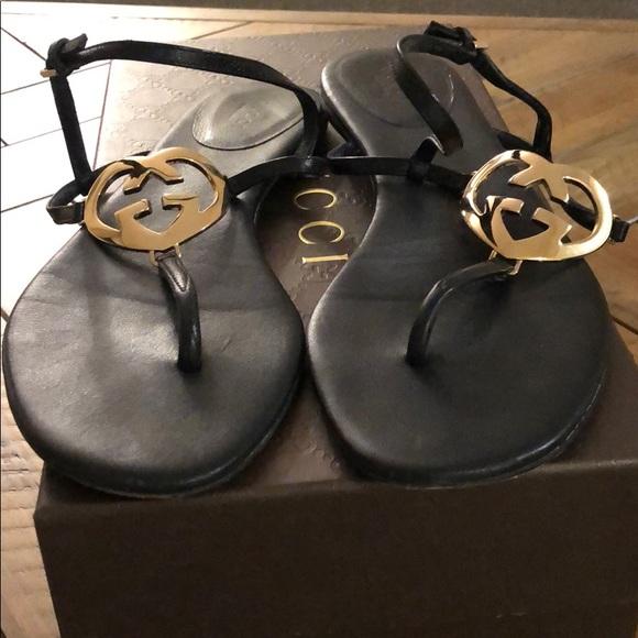 979edcbf1384 Gucci Shoes - Gucci thong sandal - size 7